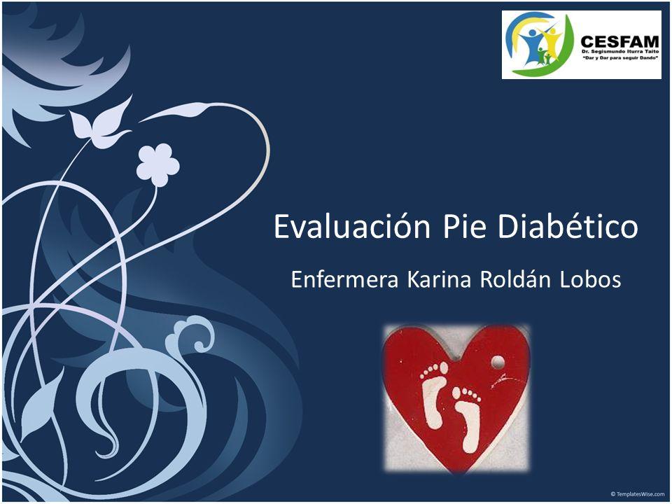 Evaluación Pie Diabético