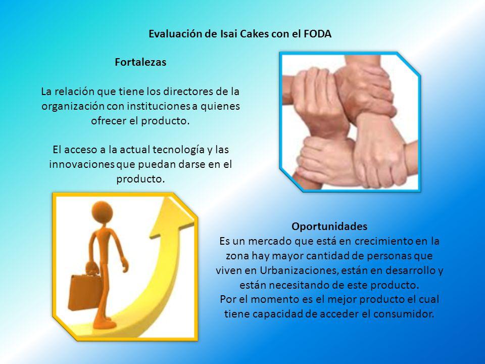 Evaluación de Isai Cakes con el FODA