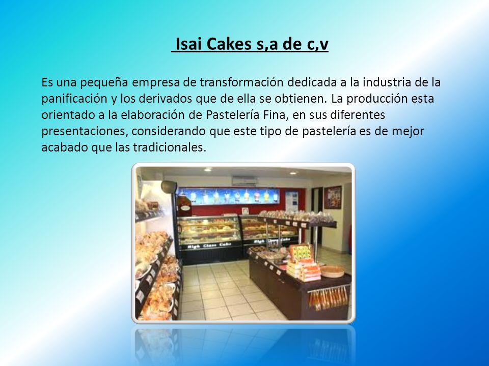 Isai Cakes s,a de c,v