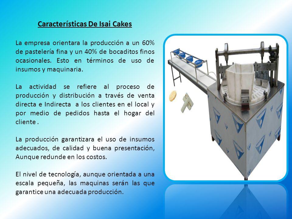 Características De Isai Cakes