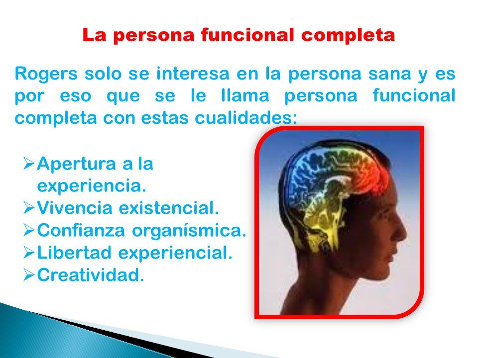 La persona funcional completa
