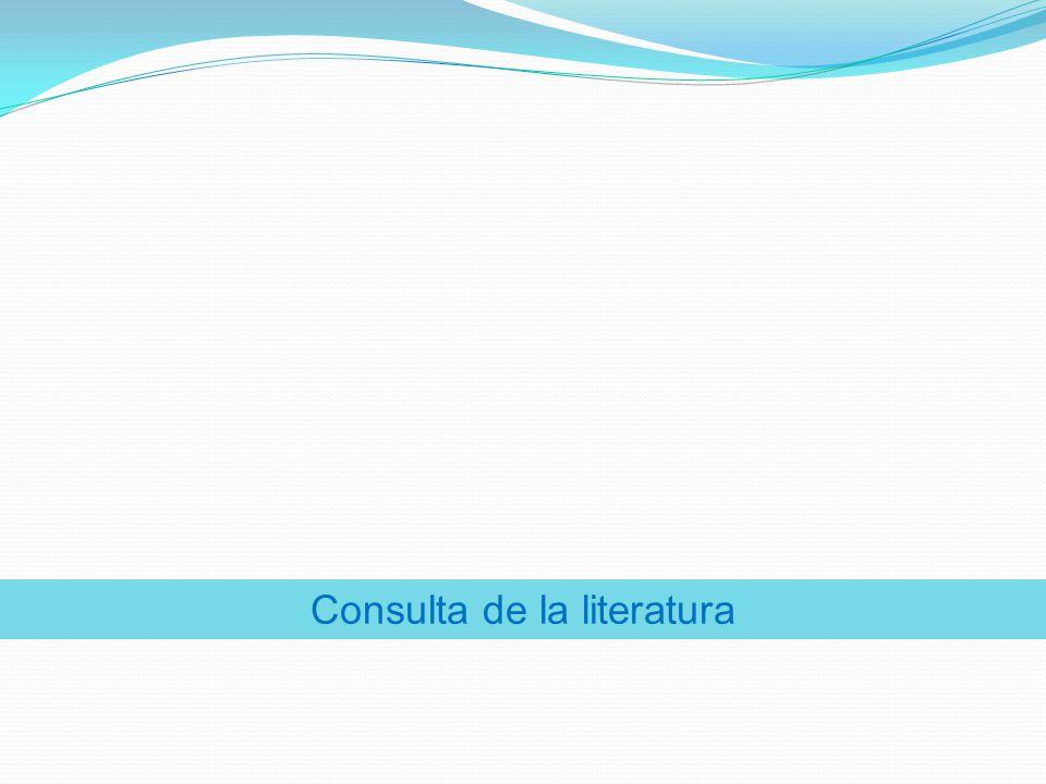 Consulta de la literatura