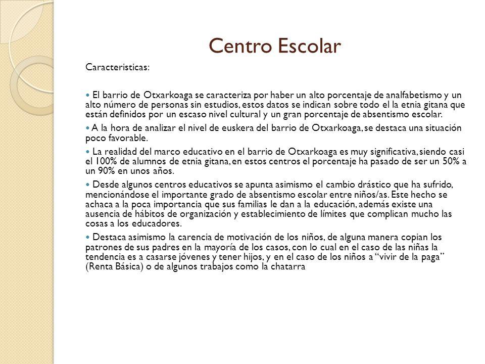 Centro Escolar Caracteristicas: