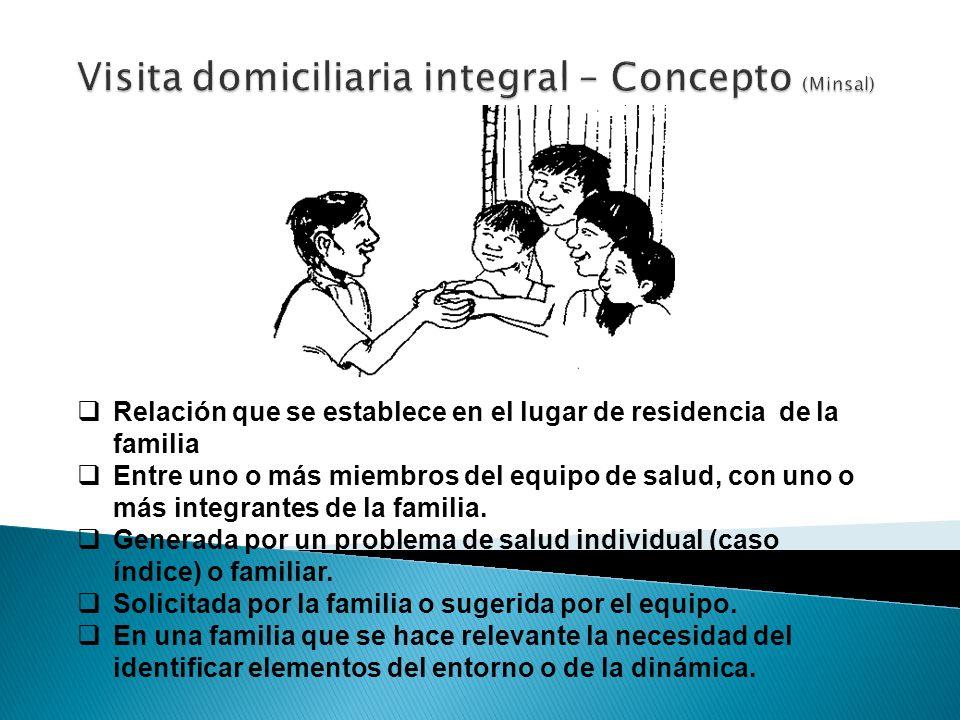 Visita domiciliaria integral – Concepto (Minsal)