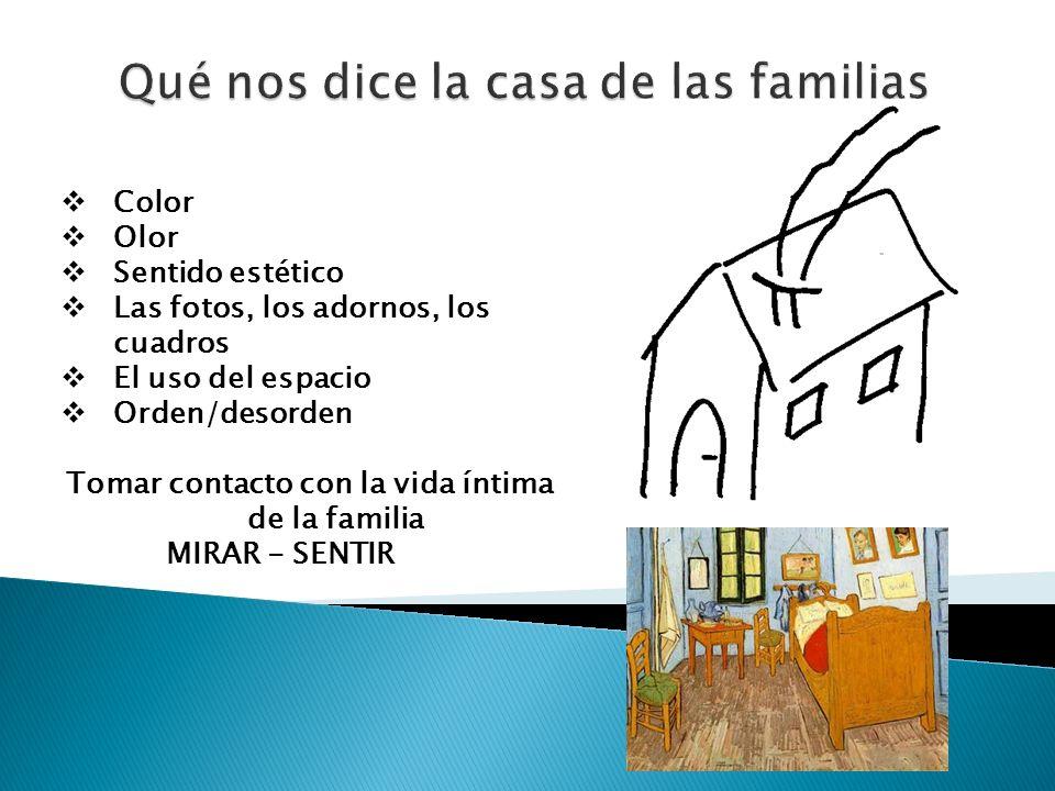 Qué nos dice la casa de las familias