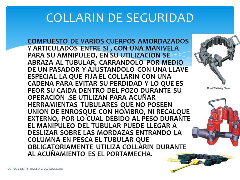 COLLARIN DE SEGURIDAD