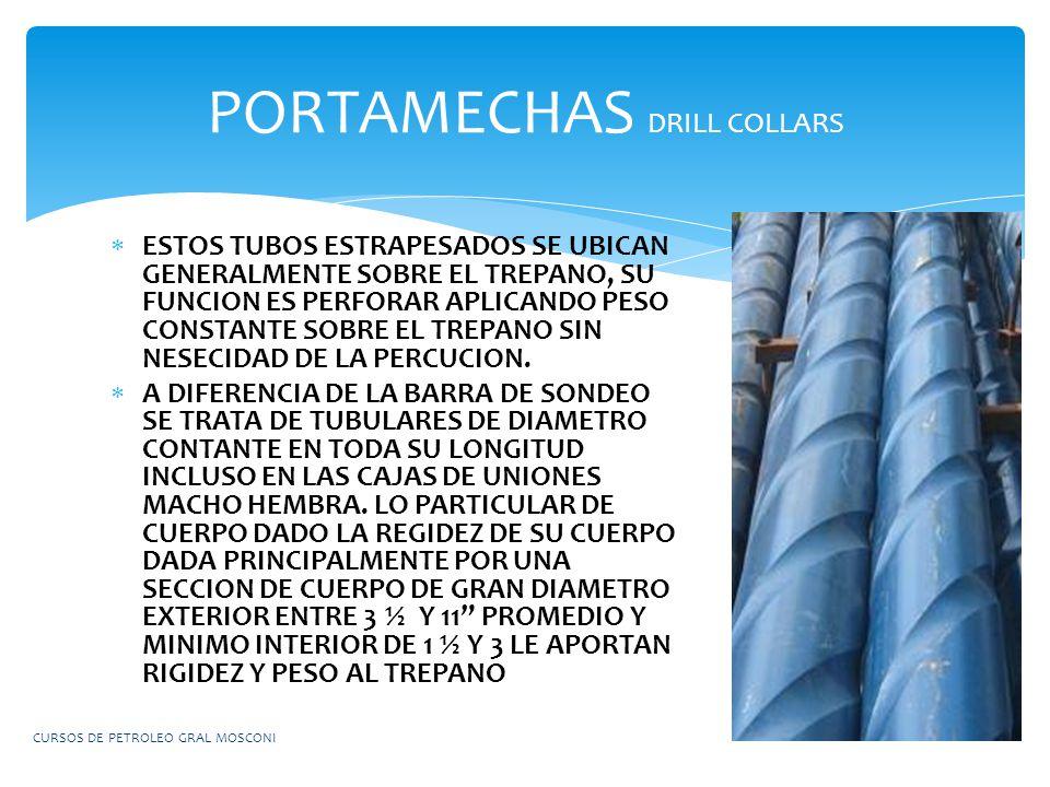PORTAMECHAS DRILL COLLARS