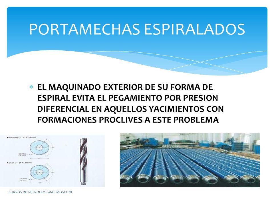 PORTAMECHAS ESPIRALADOS