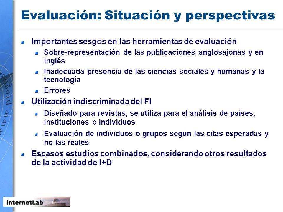 Evaluación: Situación y perspectivas