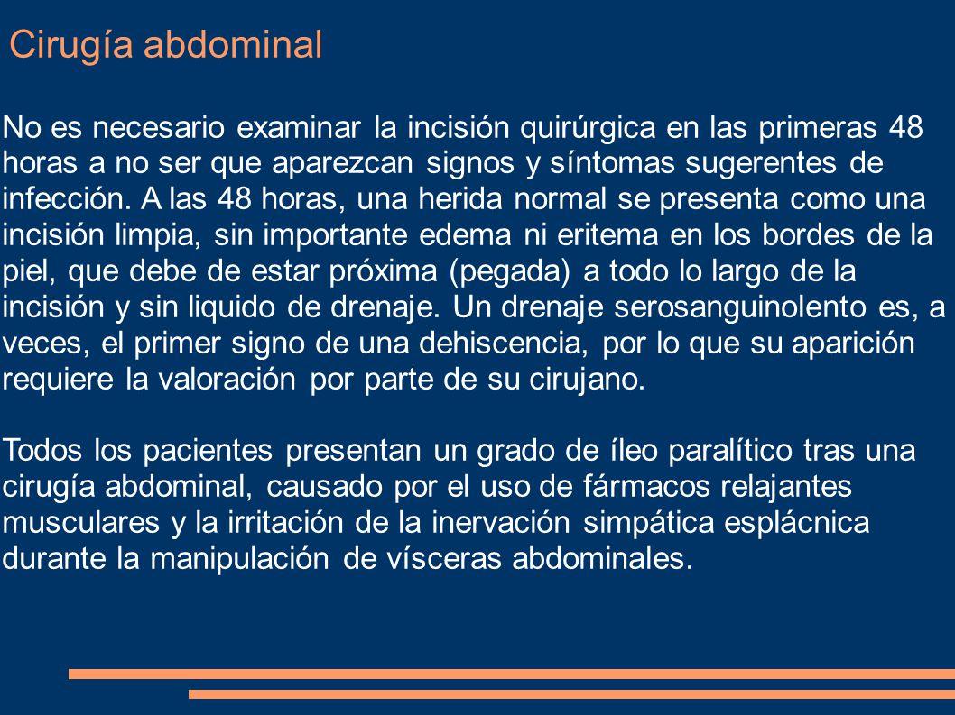 Cirugía abdominal