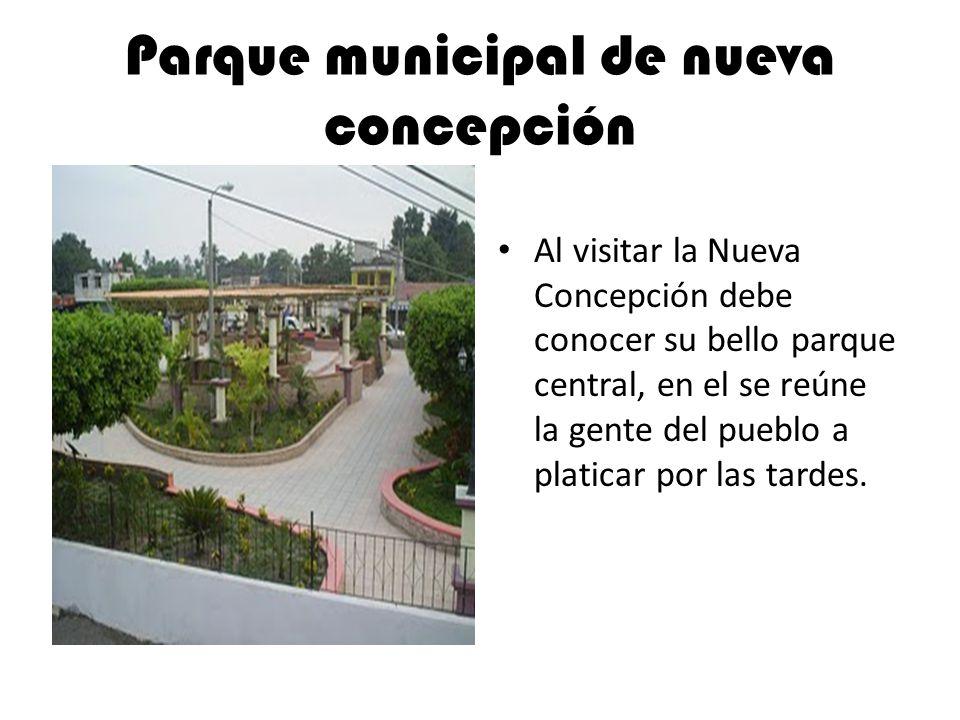 Parque municipal de nueva concepción