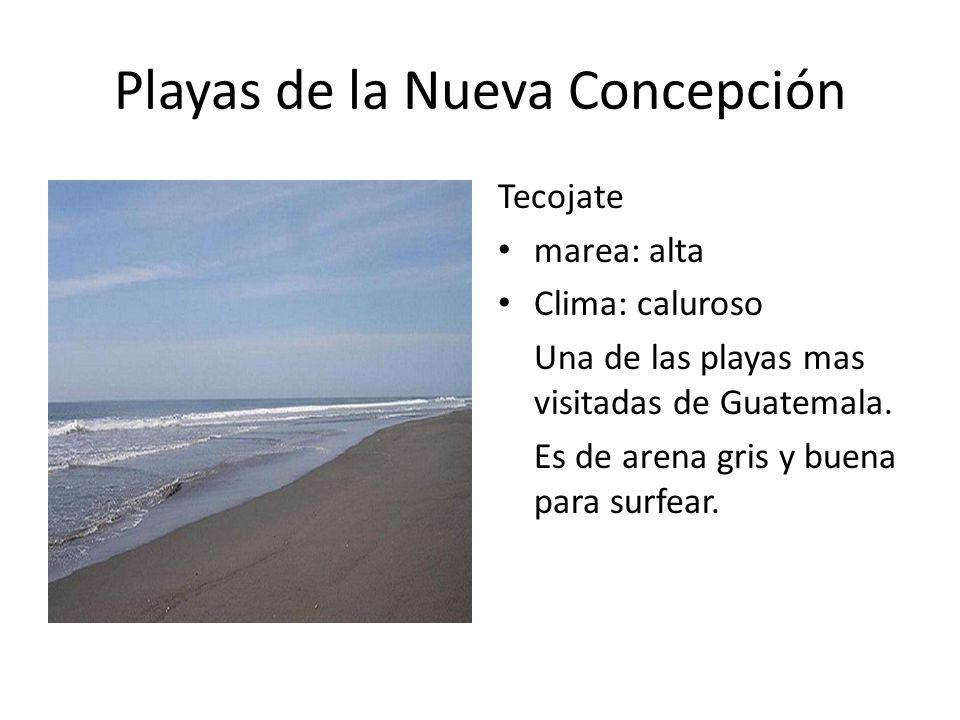 Playas de la Nueva Concepción