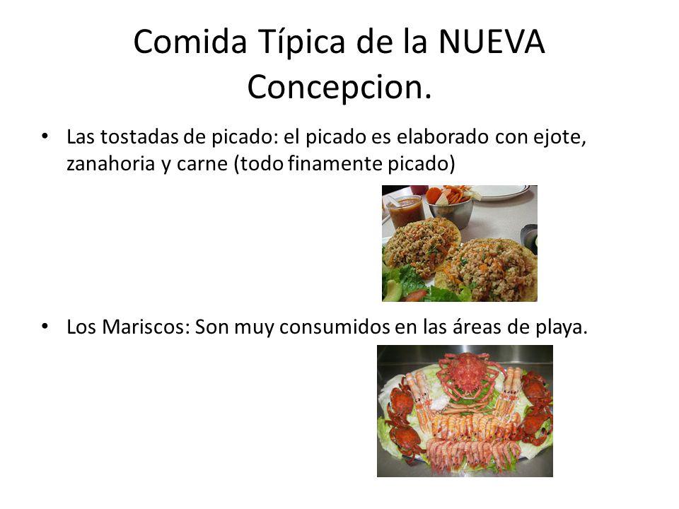 Comida Típica de la NUEVA Concepcion.