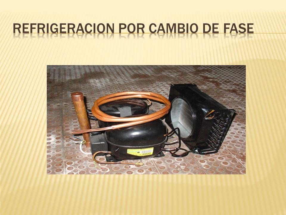 REFRIGERACION POR CAMBIO DE FASE