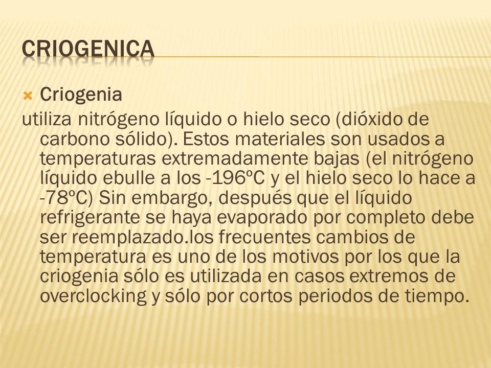 CRIOGENICA Criogenia.
