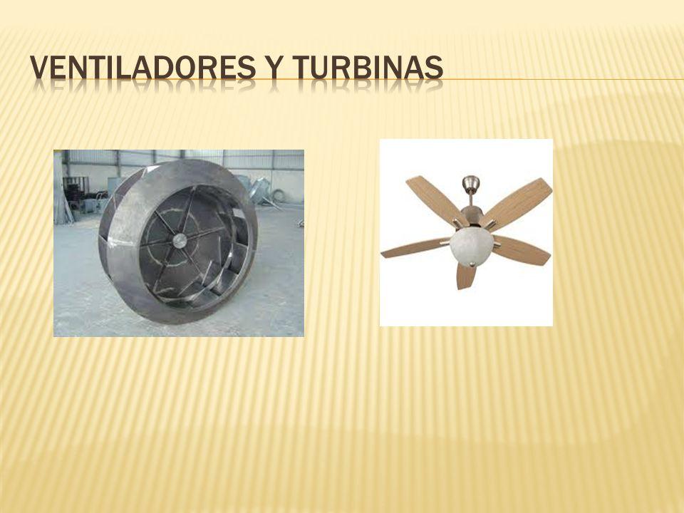 Ventiladores y turbinas