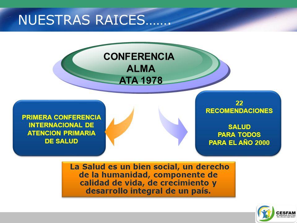 INTERNACIONAL DE ATENCION PRIMARIA