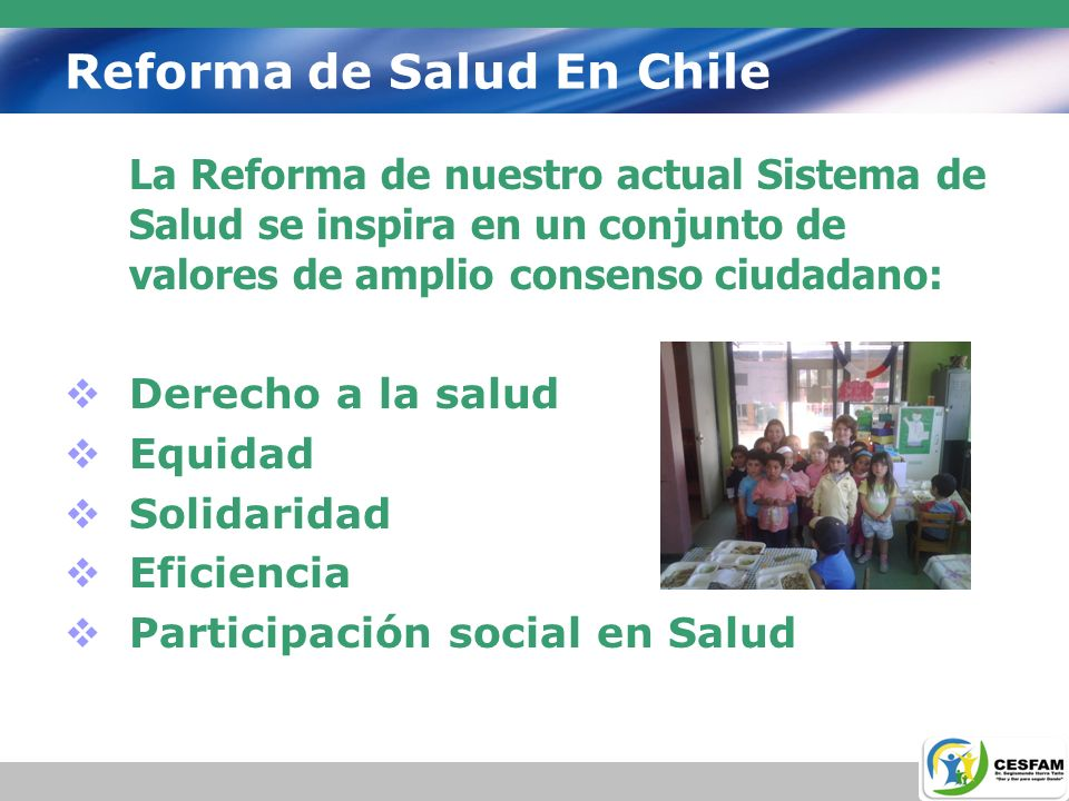 Reforma de Salud En Chile
