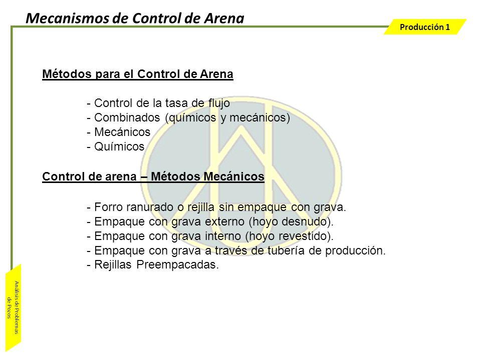 Mecanismos de Control de Arena