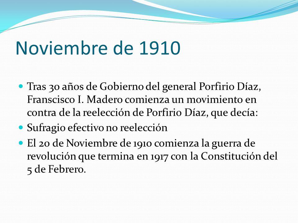 Noviembre de 1910