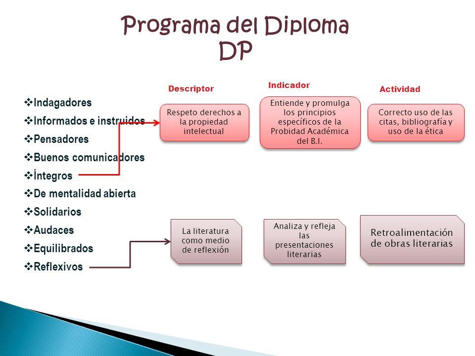 Programa del Diploma DP