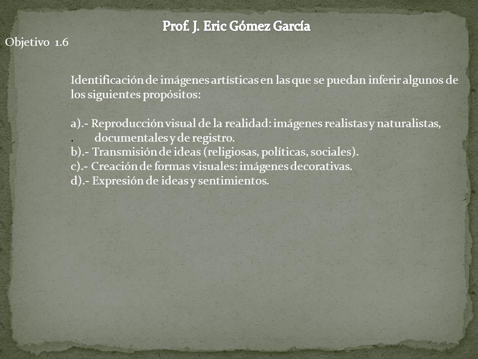 Prof. J. Eric Gómez García