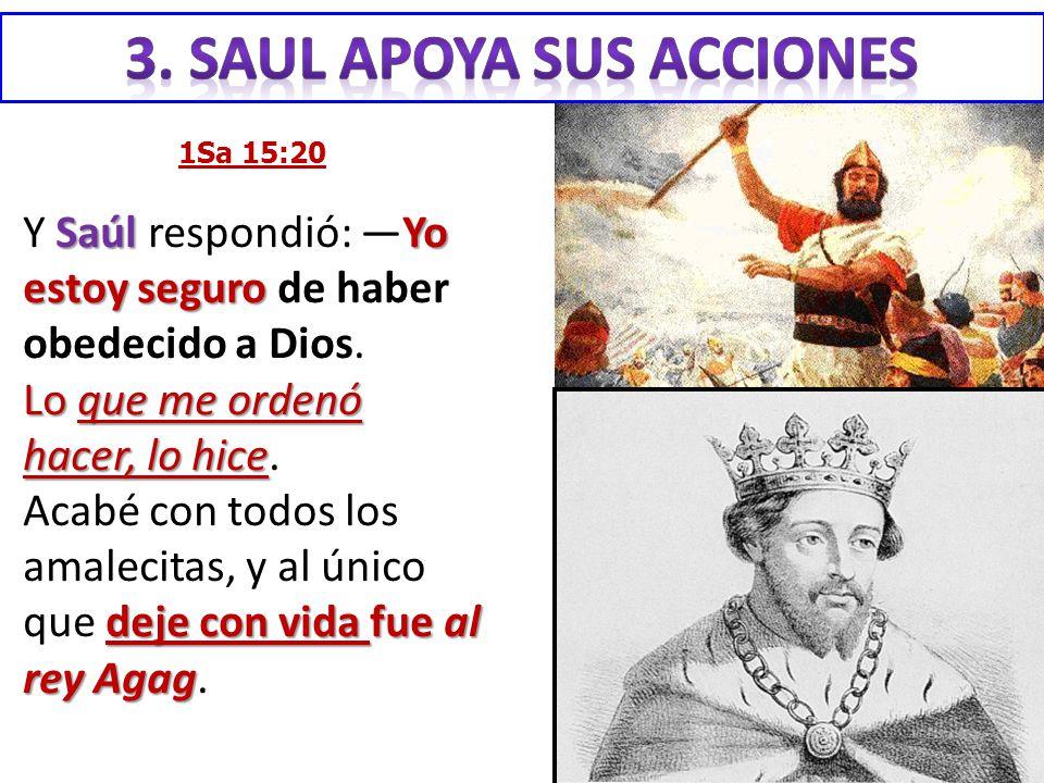 3. SAUL apoya sus acciones