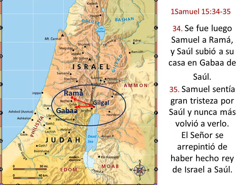 y Saúl subió a su casa en Gabaa de Saúl.
