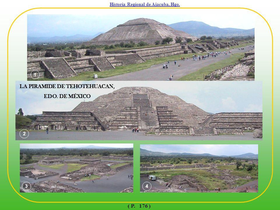 Historia Regional de Ajacuba, Hgo. LA PIRAMIDE DE TEHOTEHUACAN,