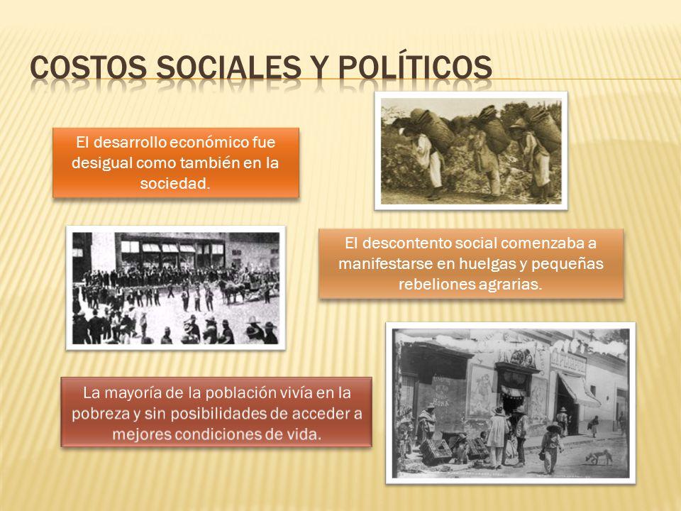 Costos sociales y políticos