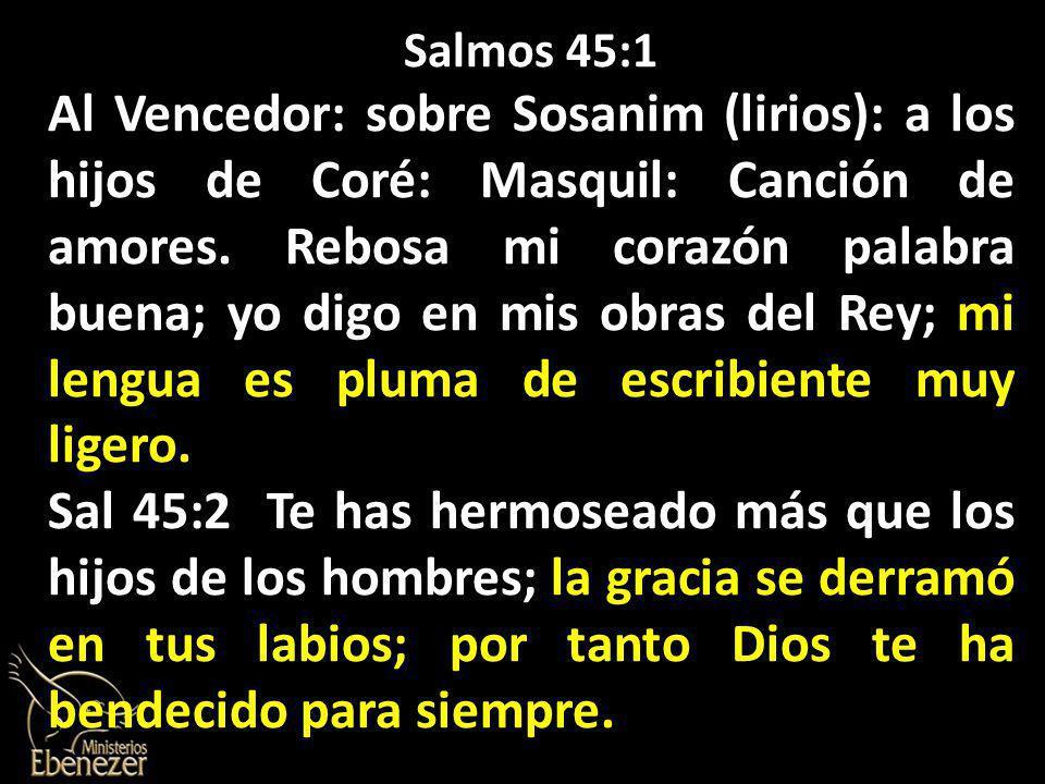 Salmos 45:1