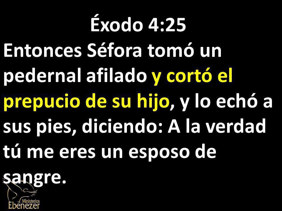 Éxodo 4:25
