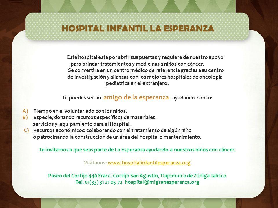 HOSPITAL INFANTIL LA ESPERANZA