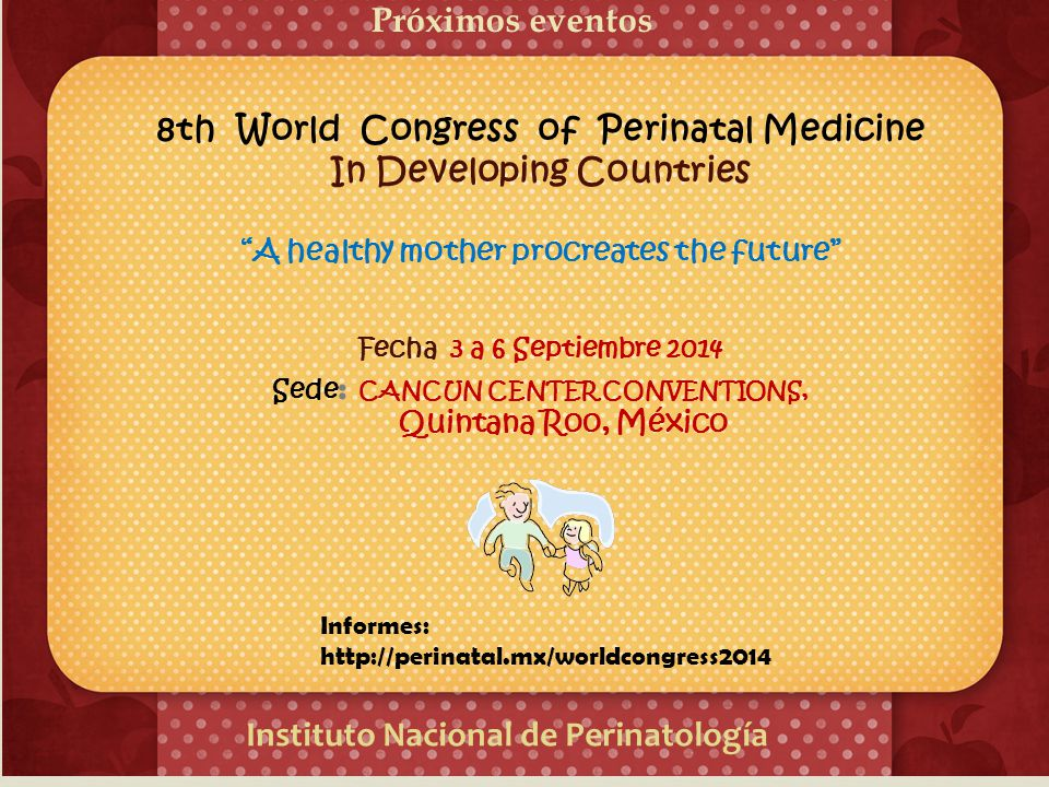 8th World Congress of Perinatal Medicine In Developing Countries