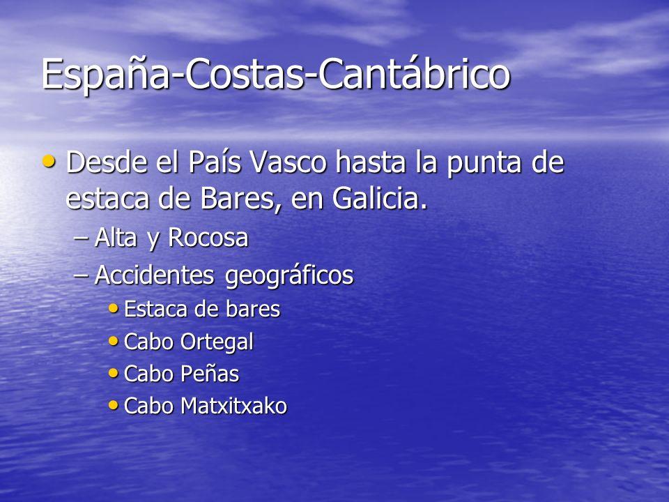 España-Costas-Cantábrico