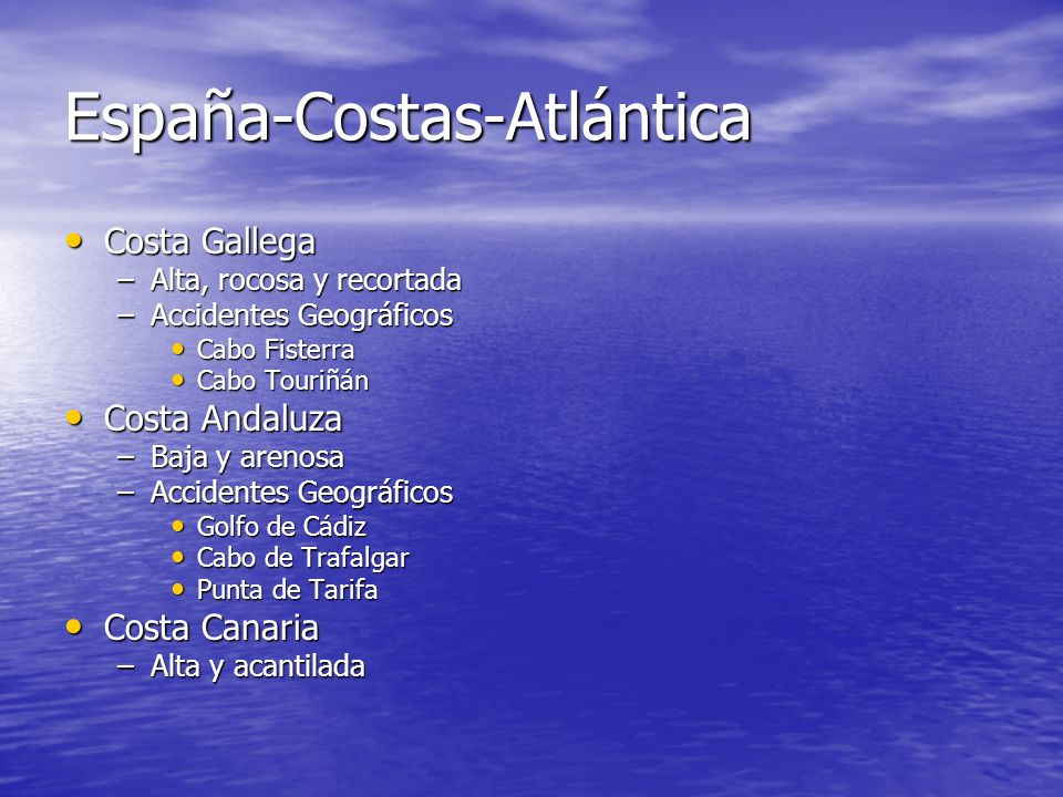 España-Costas-Atlántica