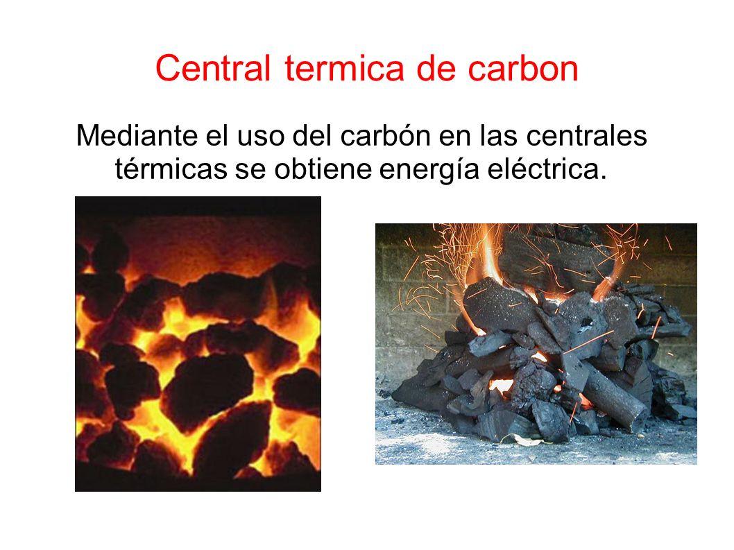 Central termica de carbon