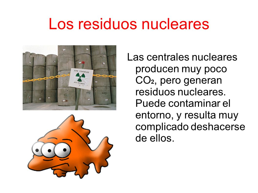 Los residuos nucleares