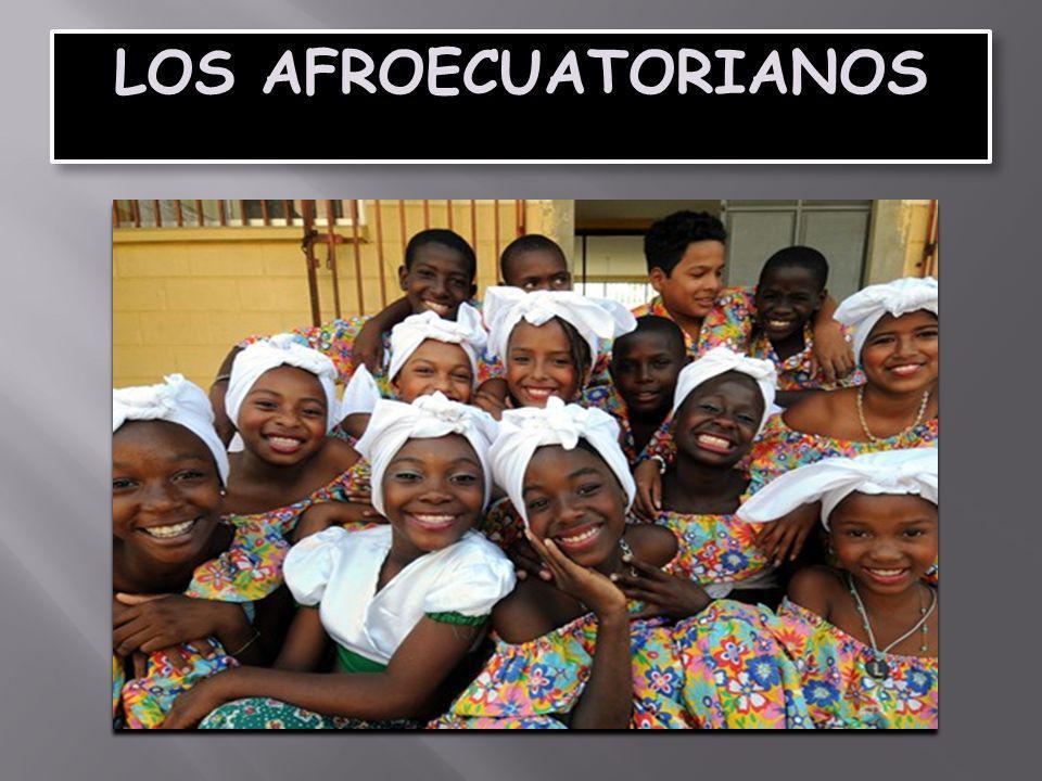 LOS AFROECUATORIANOS