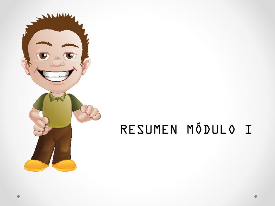 RESUMEN MÓDULO I