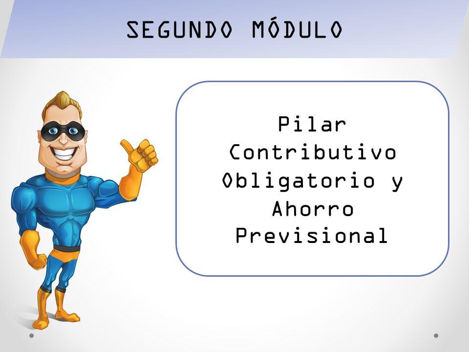 Pilar Contributivo Obligatorio y Ahorro Previsional