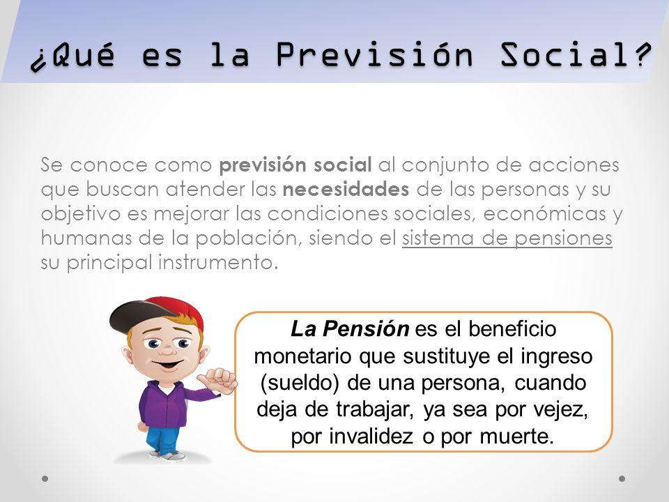 ¿Qué es la Previsión Social