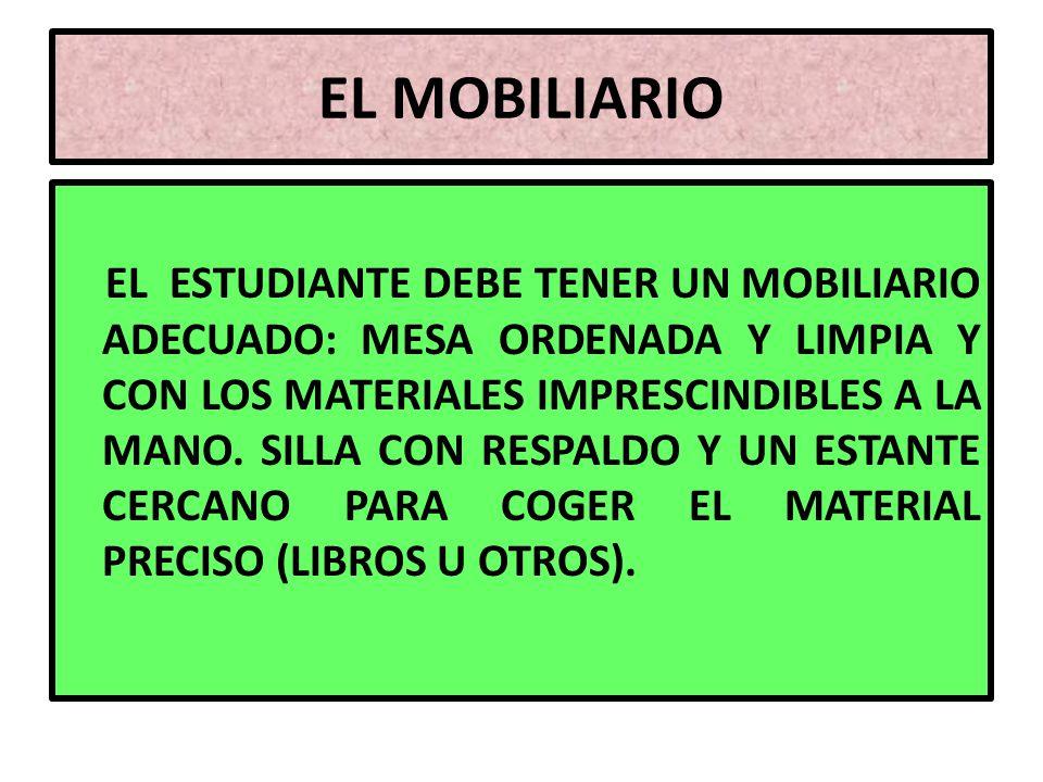 EL MOBILIARIO