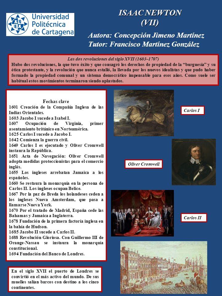 Las dos revoluciones del siglo XVII (1603–1707)