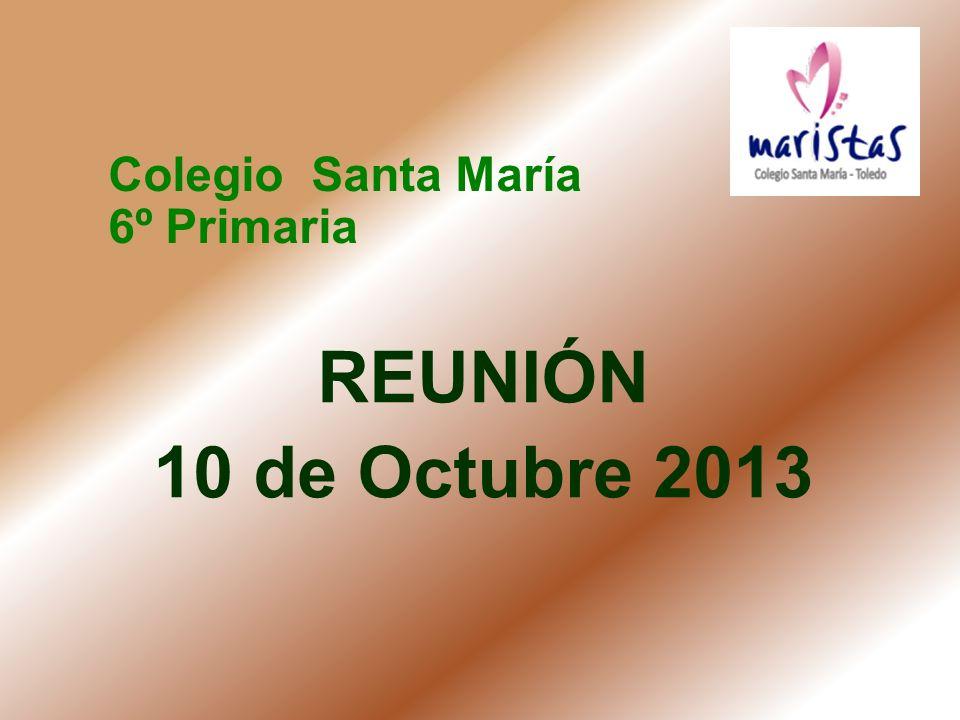 Colegio Santa María 6º Primaria