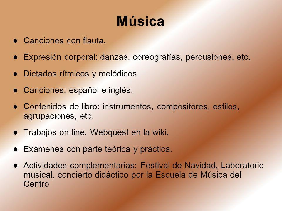 Música Canciones con flauta.