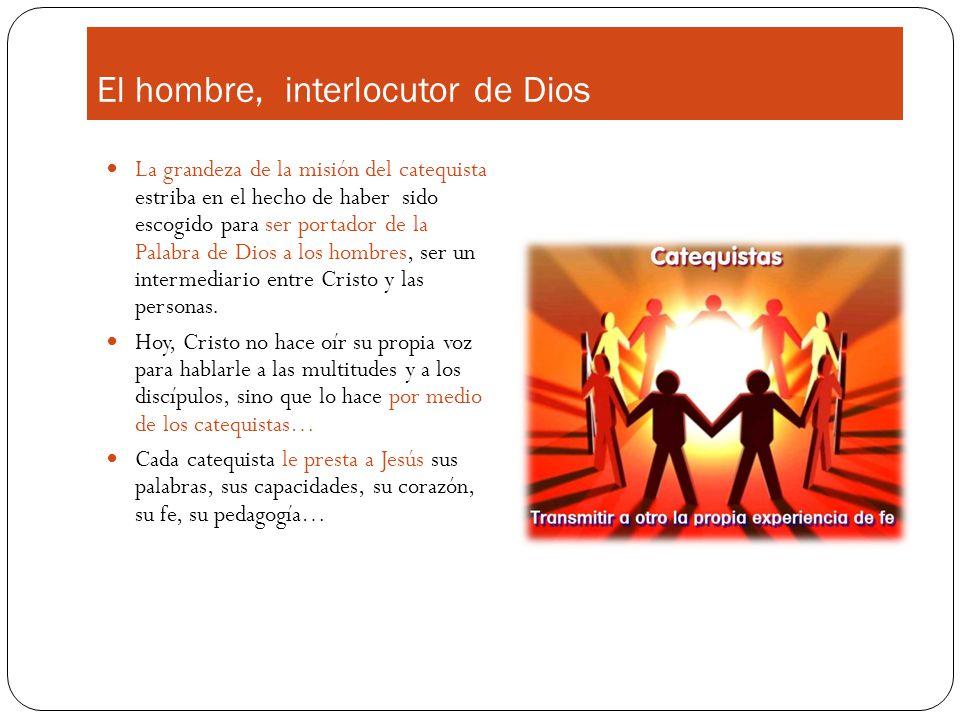 El hombre, interlocutor de Dios
