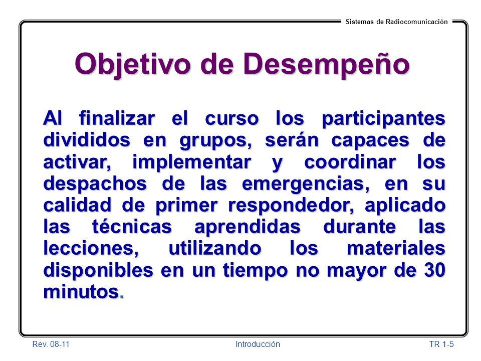 01/04/2017 Objetivo de Desempeño.