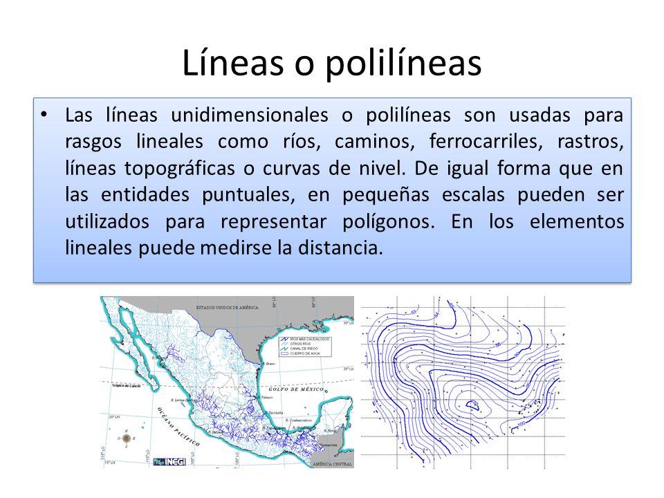 Líneas o polilíneas