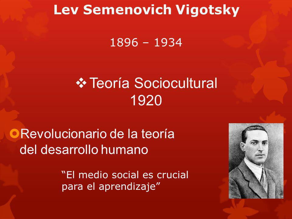 Lev Semenovich Vigotsky